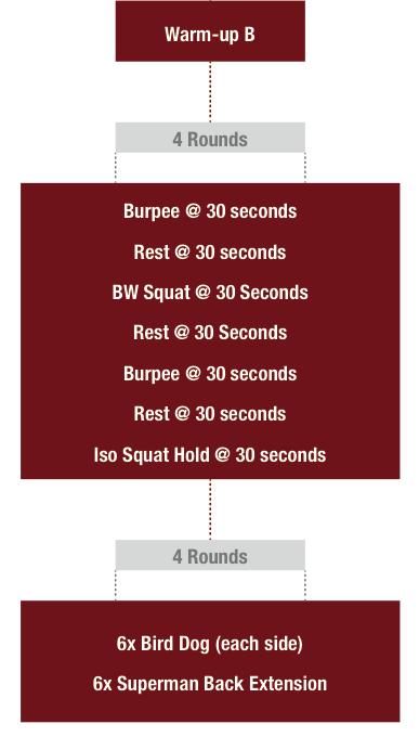Bodyweight training plan