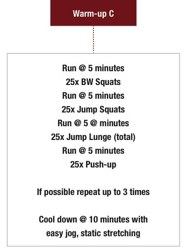 Hybrid Bodyweight training plan